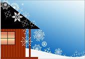 Kabine und Schneefall (Exemplar)