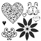 heart design elements