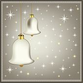 picture of christmas bells  - silver bells - JPG