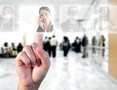 stock photo of human resource management  - Human Resources concept  - JPG