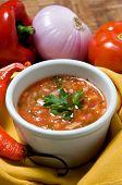 Ecuadorian food series: pepper sauce