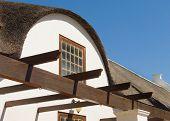 Stellenbosch Colonial Roof Made Of Thatch
