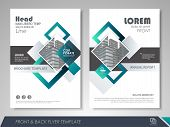 Blue And Green Abstract Presentation Slide Templates. Brochure Template, Brochures, Brochure Layout, poster