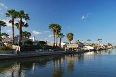Houses Waterside On Padre Island, Texas