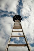 stock photo of stairway to heaven  - stairway to heaven - JPG