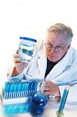 marine biology, science, medicine, mad scientist - A Mad Scientist shows off his latest evil plan to