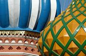 Famous St. Basil's Cathedral at Red Square in Moscow, Russia