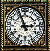 Dial del Big Ben en Londres, Reino Unido