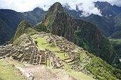 Machu Picchu lost Inca city, Peru.