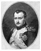 stock photo of bonaparte  - Napoleon Bonaparte aka Napoleon I  - JPG