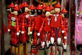 Wooden Pinocchio Puppet Souvenirs
