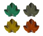 Wood Bodhi Or Peepal Leaf