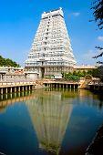 Arunachaleswar Temple in Tiruvannamalai  dates from the 11th century,Tamil Nadu, India