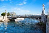 Versalles bridge, one of  21  bridges over a two rivesr in Matanzas, date from 1899, Cuba