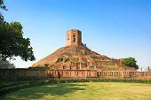 Chaukhandi Stupa dates back to the 5th century AD, which marks the spot where the Buddha met his fir