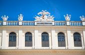 picture of sissi  - Detail of castle Schoenbrunn in Vienna  - JPG
