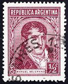 Postage stamp Argentina 1935 Manuel Belgrano