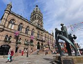 A Shot Of The Chester Town Hall, Chester, England