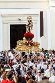 Virgen Del Carmen Getting Out Of The Church