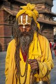 Ascetic Monk, Sadhu Holy Man