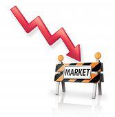 Caution Down Market