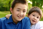 Two Beautiful Boys From Intermarriage Parents