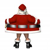 stock photo of humbug  - Santa Flashing - JPG