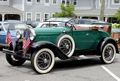 A 1928 model A Ford
