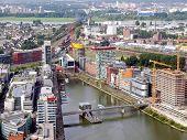 Düsseldorfer Mediahafen Hafen