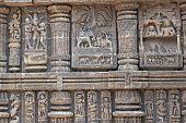 Carvings On Konark Temple