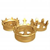 Gilded 3 Crowns 02