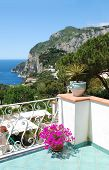Balcony view, Capri