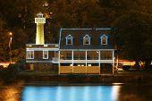 Boathouse Row Lighthouse