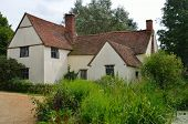stock photo of willy  - Willy Lotts cottage with Reeds in Foreground - JPG