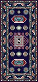 Armchair Karachop Blue