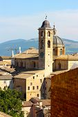 A View Of The Town Of Urbino
