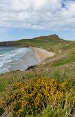 Whitesands Bay beach West Wales UK