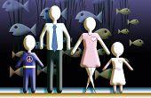 Family Aquarium Front