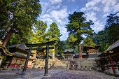 Nikko, Japan Toshogu shrine.