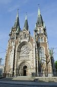 Church Of St. Olha And Elizabeth In Lvov