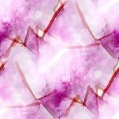 art purple avant-garde background hand paint seamless wallpaper