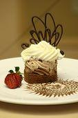 Chestnut Rum Cream Cake