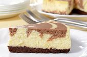 cheesecake de chocolate de macro