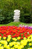 Art In Flower Garden
