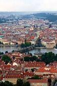 Karl's Bridge Aerial Prague