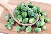Brussels Sprouts In Spoon