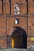 Church Of St. George (kirche Friedland). City Pravdinsk (until 1946 Friedland), Kaliningrad Oblast