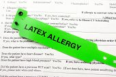 Latex Allergy And Paperwork