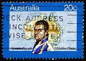 Postage Stamp Australia 1980 Matthew Flinders, Navigator