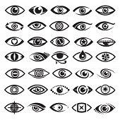ogen pictogrammen
